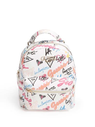 women  Adriana Mini Backpack at Guess