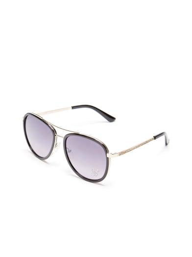 women  Rhinestone G Aviator Sunglasses at Guess