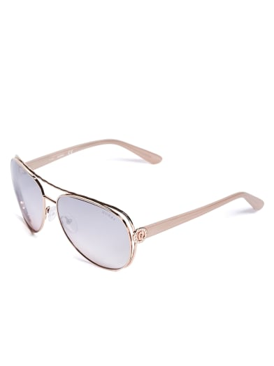 women Tinted Aviator Sunglasses at Guess
