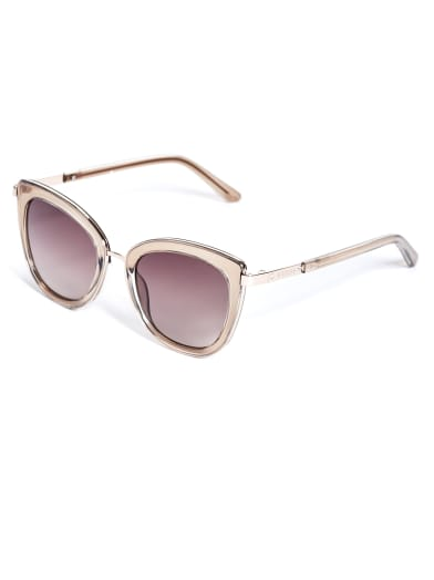 women  Cat Eye Sunglasses at Guess