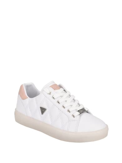 women  Jonelle Clear Sole Sneakers at Guess