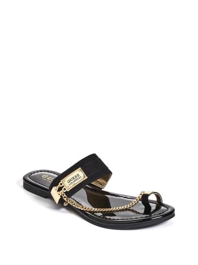 sale  Landen Chain Sandals at Guess