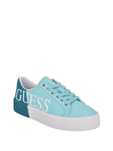 women  Margret Logo Sneakers at Guess
