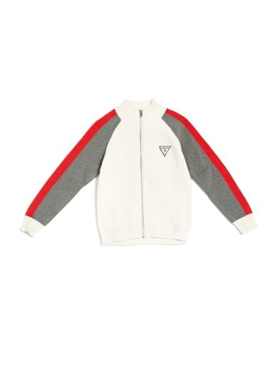 kids  Hampton Color-Block Zip Sweater (7-18) at Guess