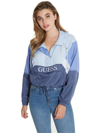 women  Remosa Pullover Windbreaker at Guess