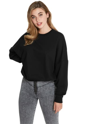 women Dorit Oversized Pullover at Guess