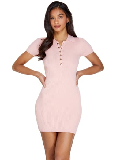 women Savelle Polo Mini Dress at Guess