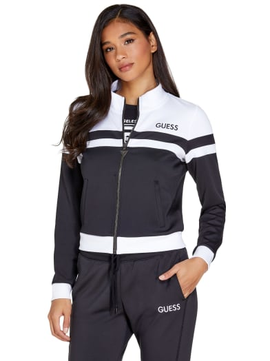 women Niko Tricot Track Jacket at Guess