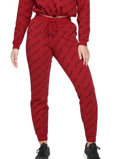 women  Dolores Logo Joggers at Guess
