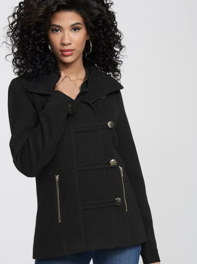 Magnolia Military Jacket by G By Guess