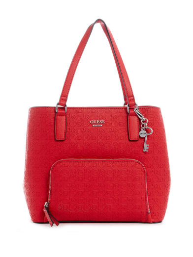 sale  Misay Logo Tote at Guess