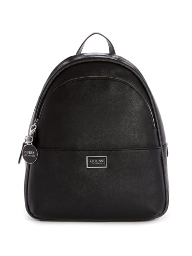 sale  Simmons Faux-Leather Backpack at Guess