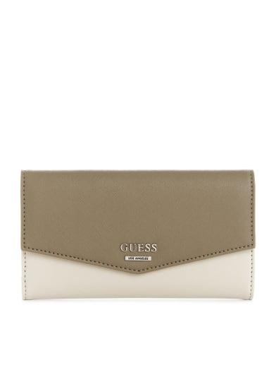 GUESS Factory Montero Slim Logo Wallet