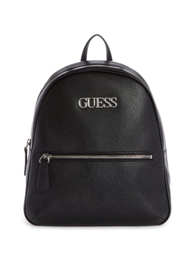 women  Vanwell Logo Emblem Backpack at Guess