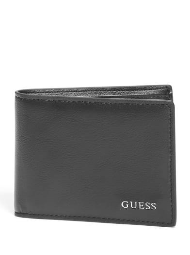 men  Carter Billfold Wallet at Guess