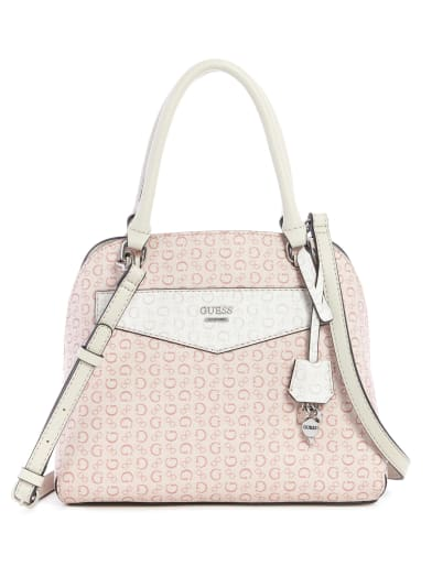 sale  Montero Logo Dome Satchel at Guess