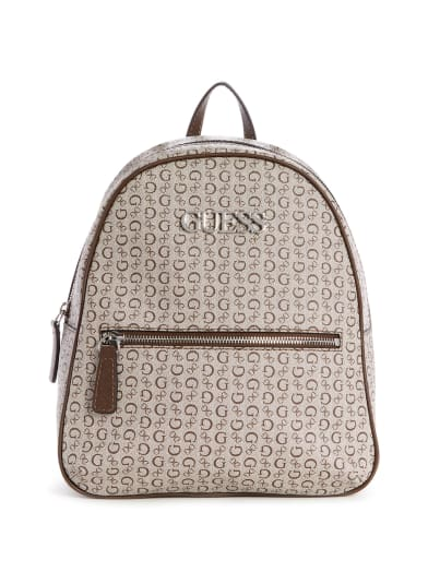 women  Vanwell Logo Backpack at Guess