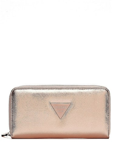 sale  Abree Zip-Around Wallet  at Guess