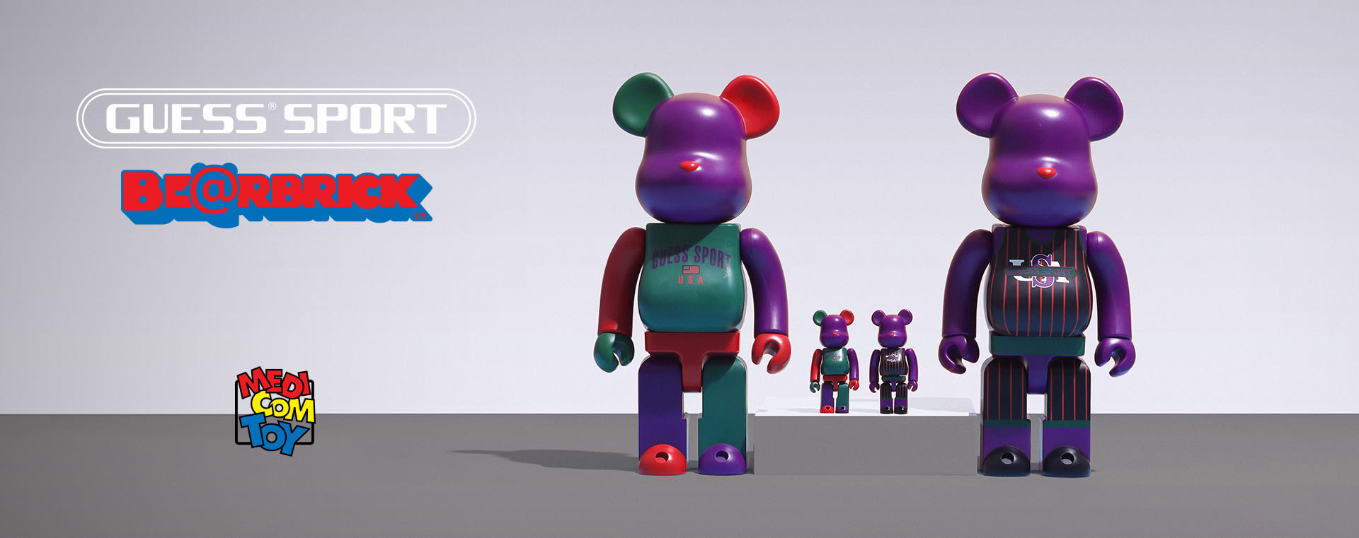 GUESS SPORT Bearbricks