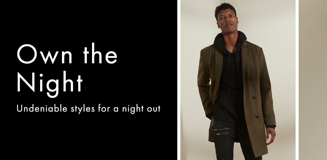 NIGHT OUT STYLES FOR HIM