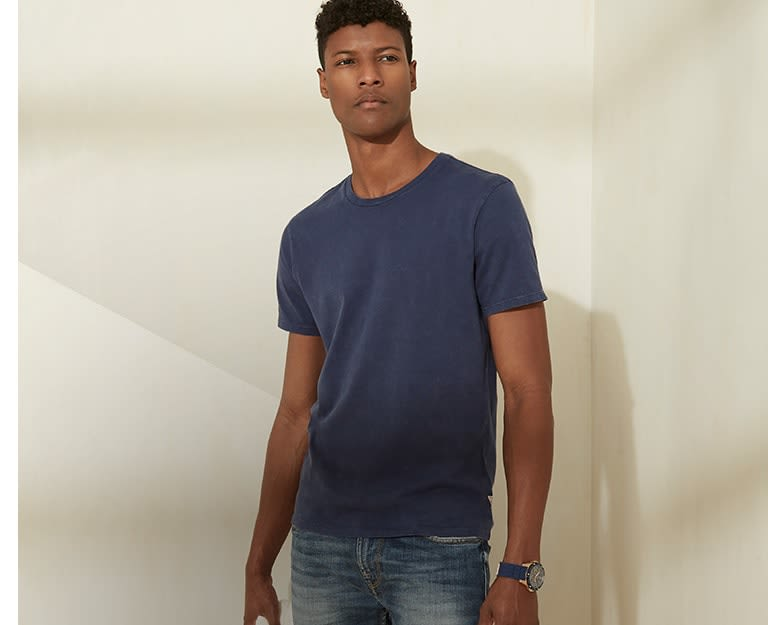 Men's basic tees