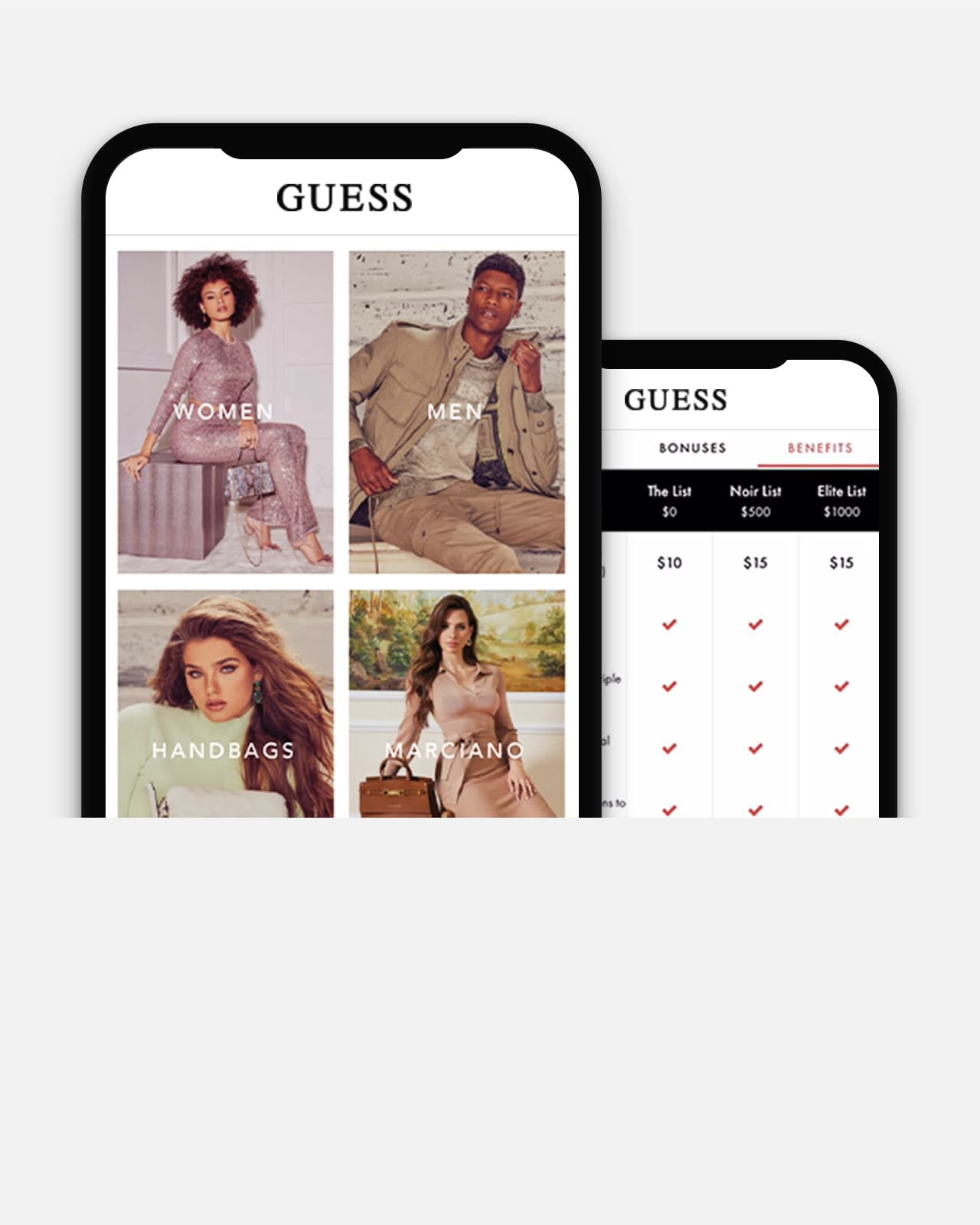 Hands-on Fashion: The GUESS Mobile App | GUESS