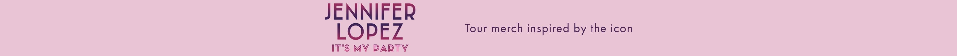 Jennifer Lopez Tour Merch