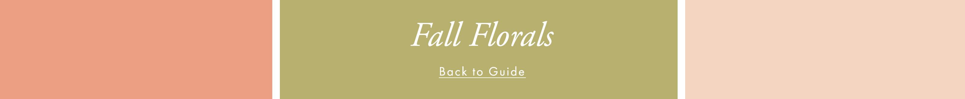 Shop fall florals