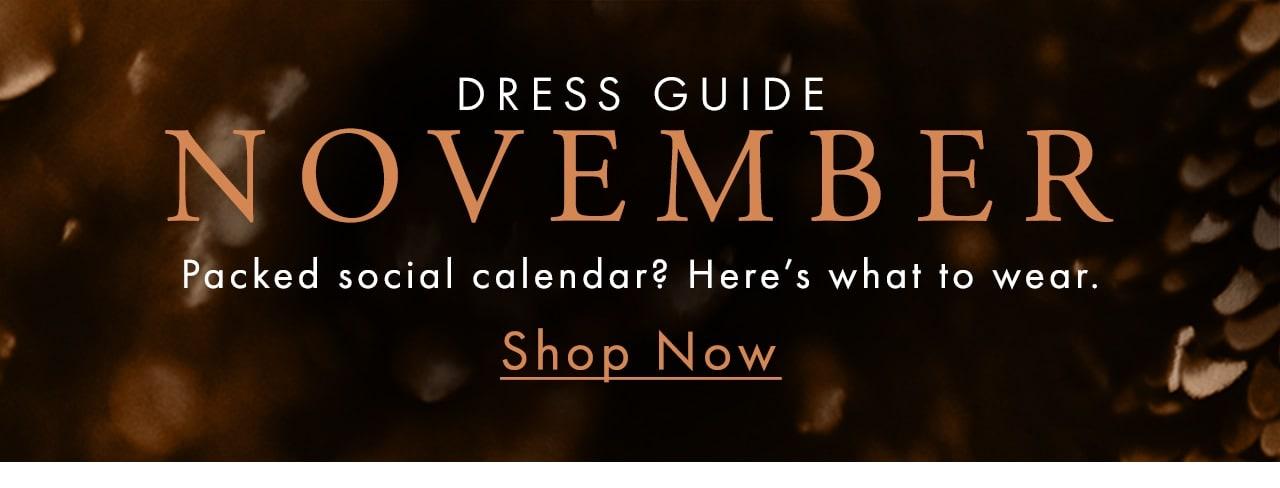 Shop Dress Guide Now