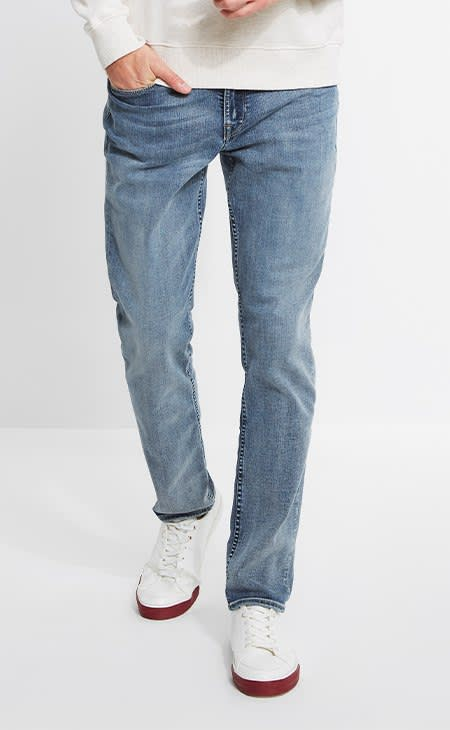 Mens smart GUESS denim