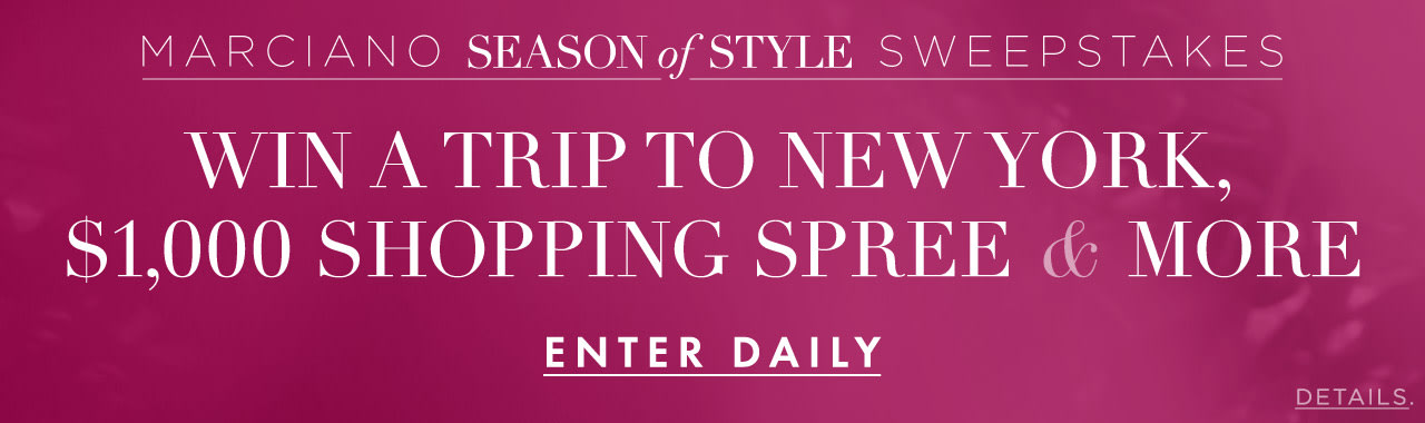 Season of Style Sweepstakes