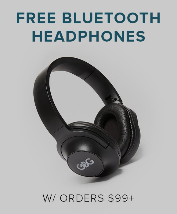 Free Bluetooth Headphones with orders $99+