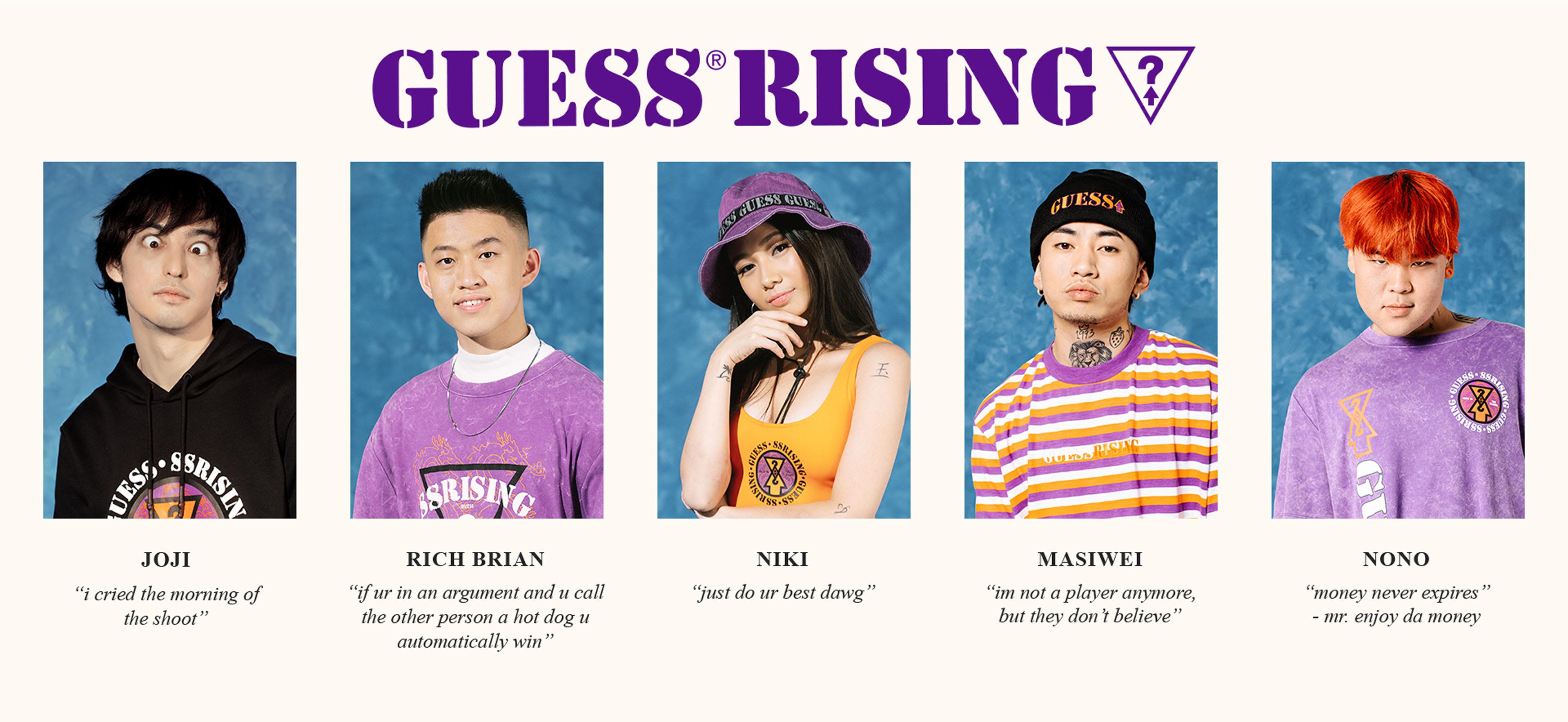 GUESS 88rising