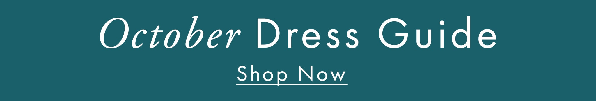 GUESS Dress Guide