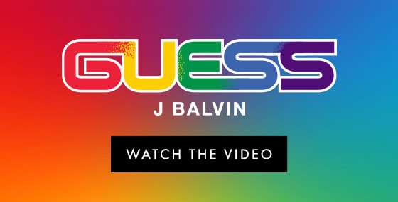 GUESS Watch the Video JBalvin