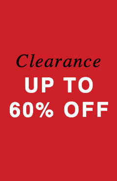 Clearance / Up to 60% Off