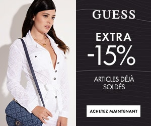 escarpin bout ouvert marciano cuir guess femme