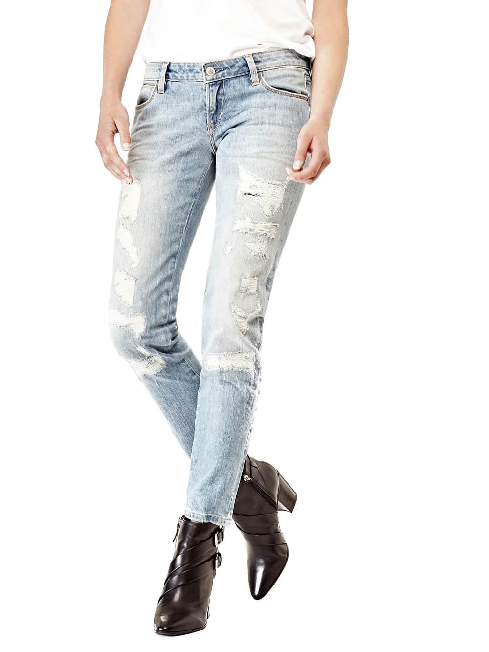 Artikel klicken und genauer betrachten! - Stretchjeans aus Baumwolldenim.  Passform Skinny.  Niedriger Bund, Bein und Beinabschluss eng.  5-Pocket-Stil.  Verschluss mit Reißverschluss und Knopf.    Abriebstellen auf der Vorderseite. Dezente Used-Optik. 98% Baumwolle 2% Elastan. Maschinenwäsche bei 30°. Denim-Stoffgewicht 11,50 Oz. Abgebildet ist Größe 27, Maße: Innere Beinlänge ca. 73,66 cm. Fällt größengetreu aus. | im Online Shop kaufen