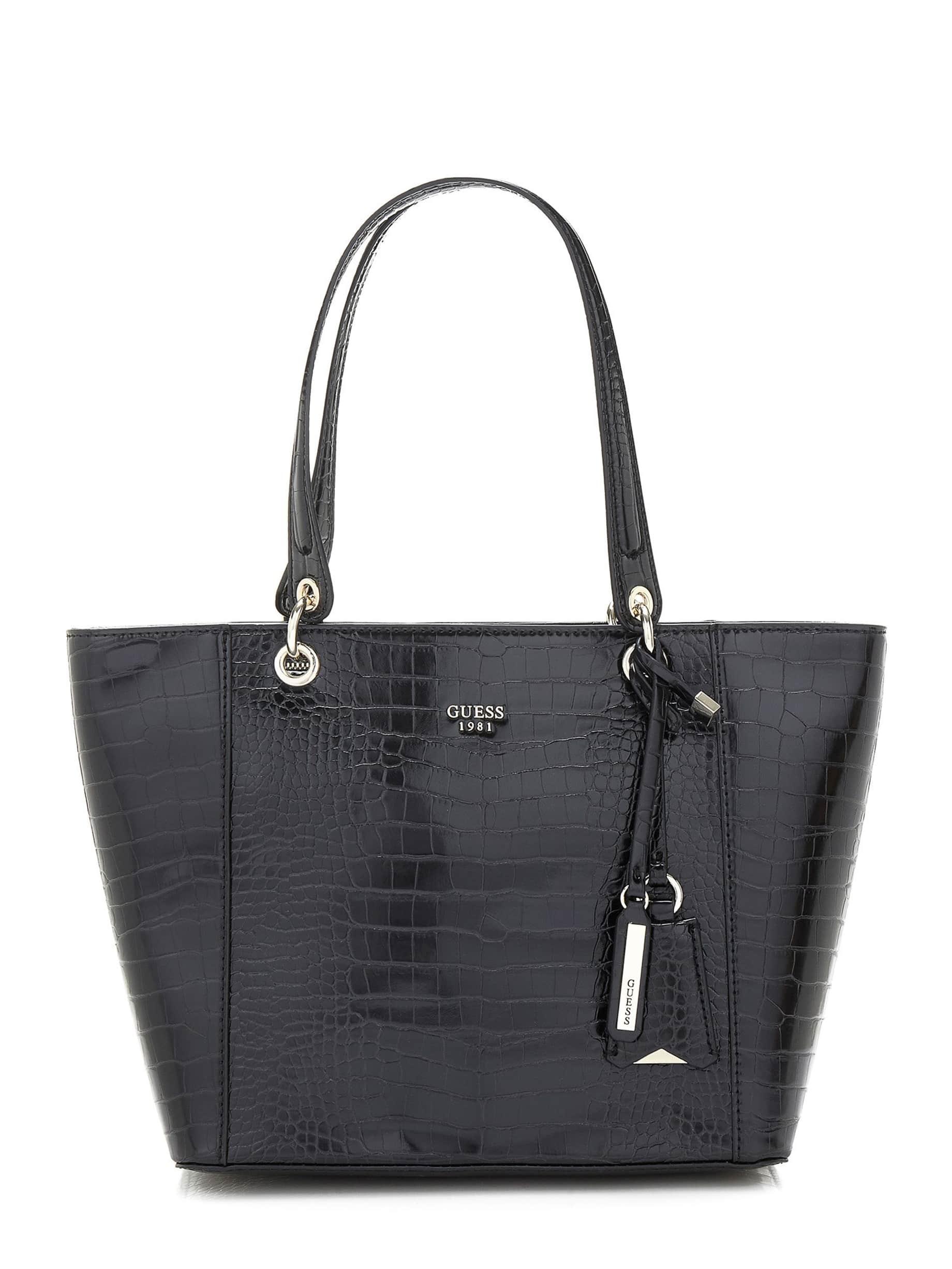 Shopping bag Guess effetto coccodrillo Kamryn