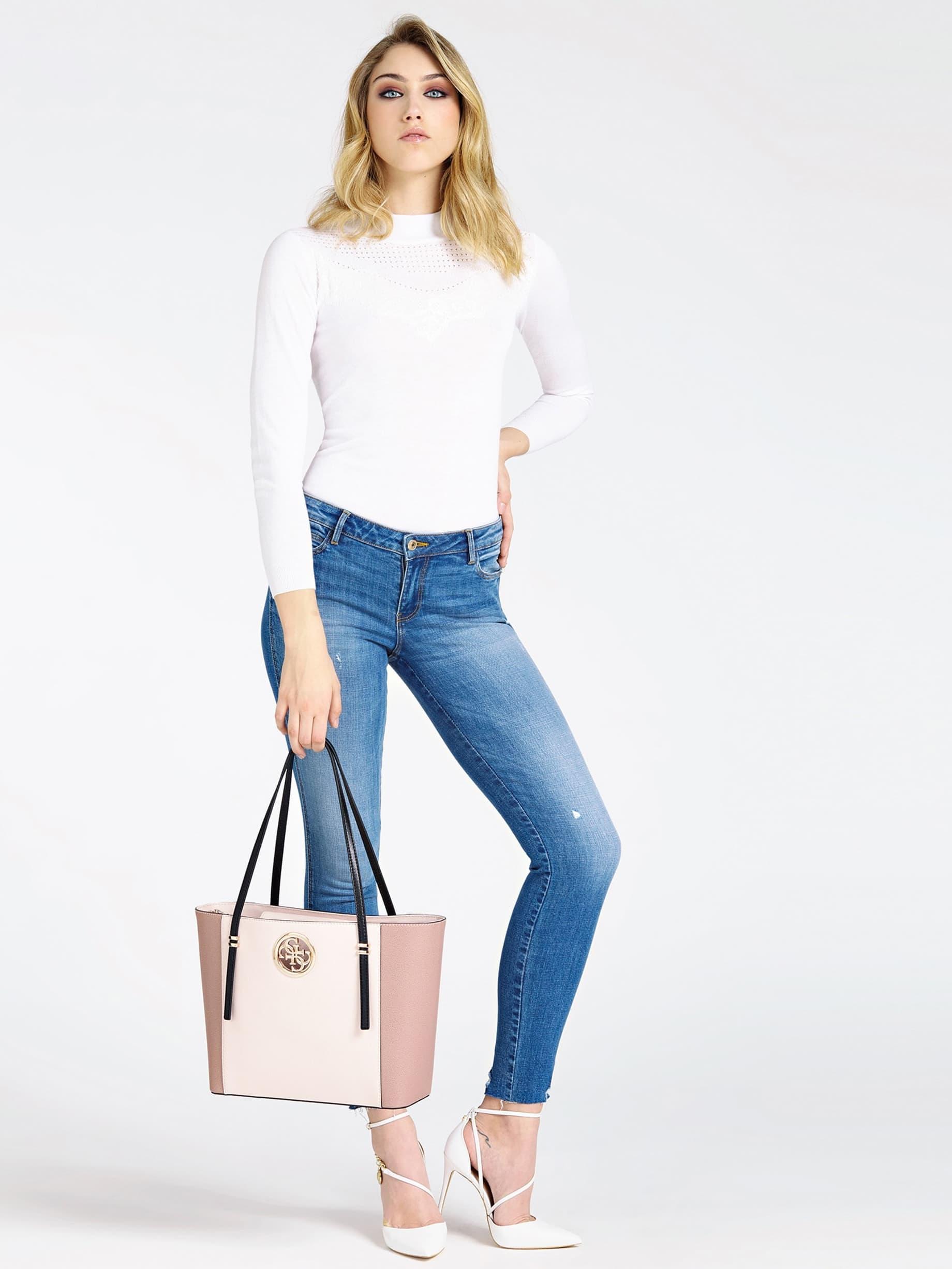30% Sale GUESS Shopper Open Road Seitliche Kontraststreifen