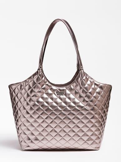 BORSE GUESS DONNA Shopper Miriam Effetto Trapuntato Pochette