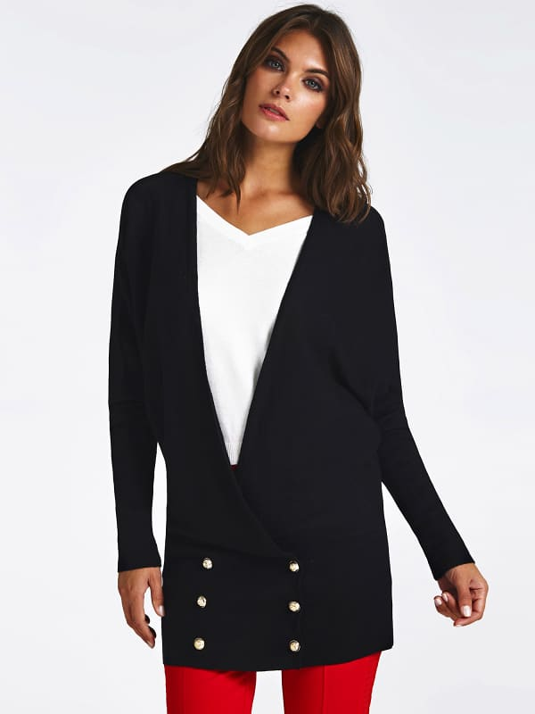 Cardigan marciano boutons bas
