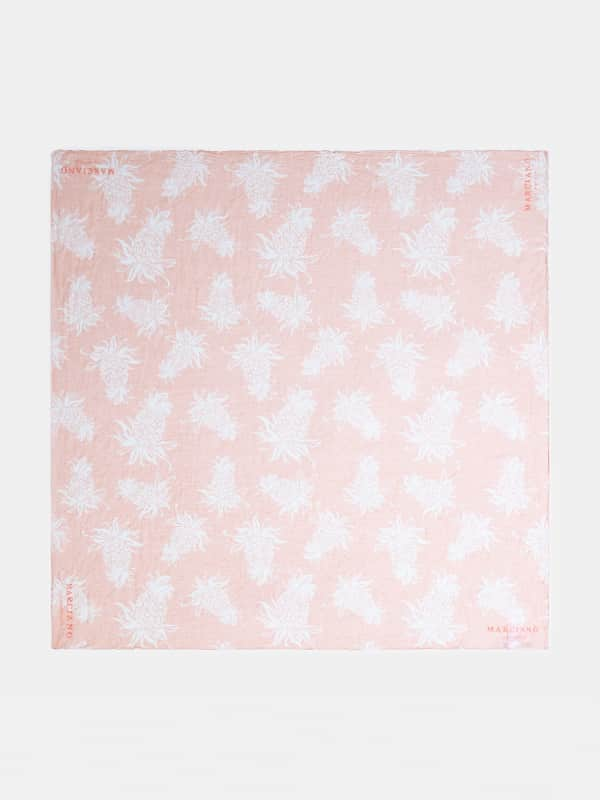 GUESS Schal Marciano Ananas-Print