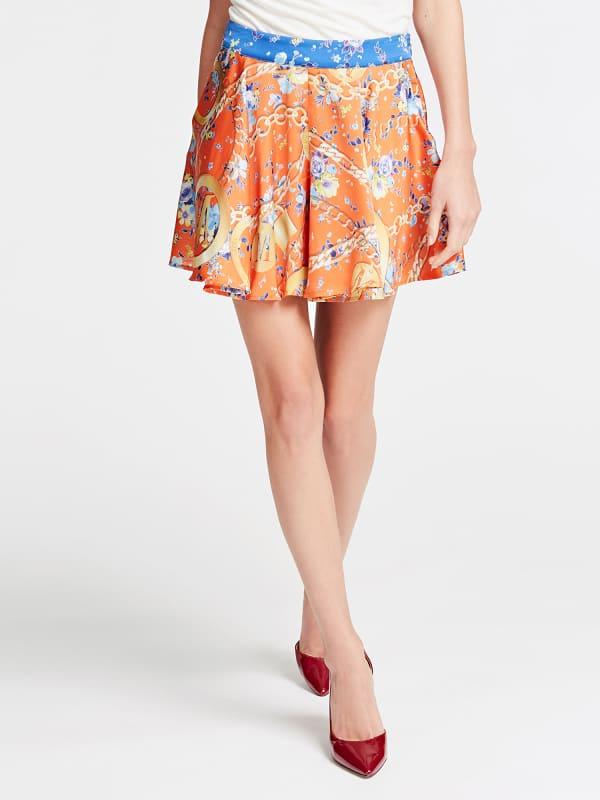 GUESS Shorts Marciano Motiv-Print