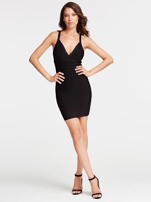 GUESS Ärmelloses Bandage-Kleid Marciano | GUESS SALE