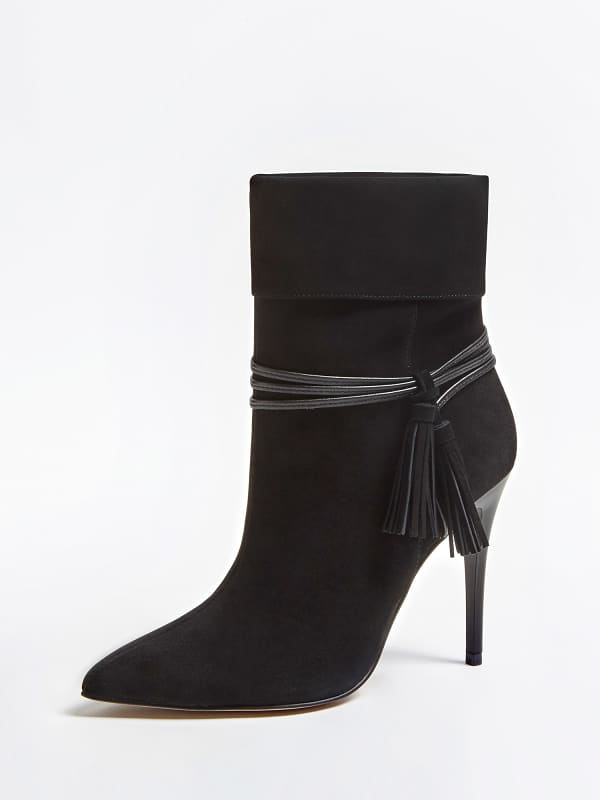 GUESS Ankle Boot Marciano Echtes Veloursleder