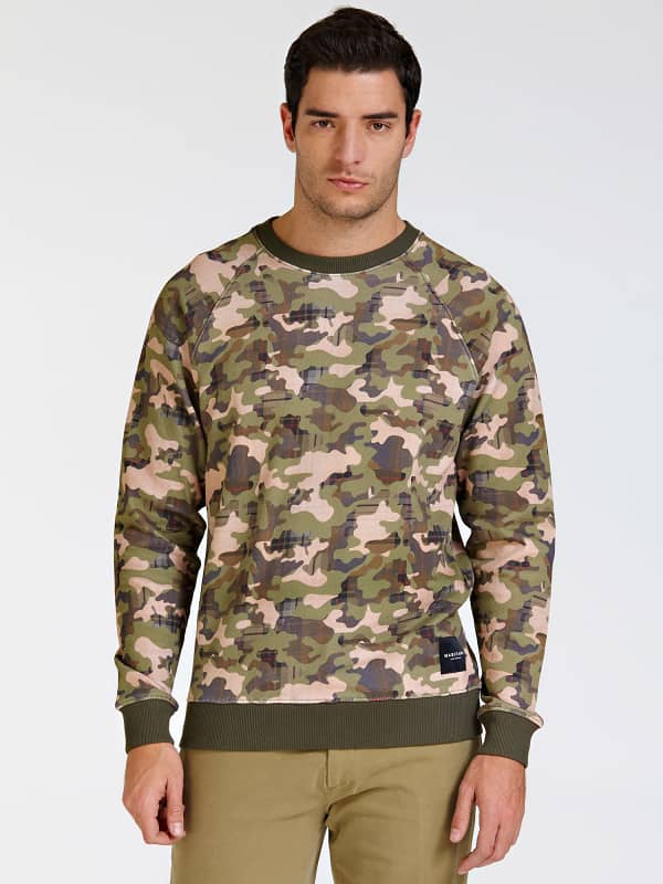 Sweat camouflage all over marciano