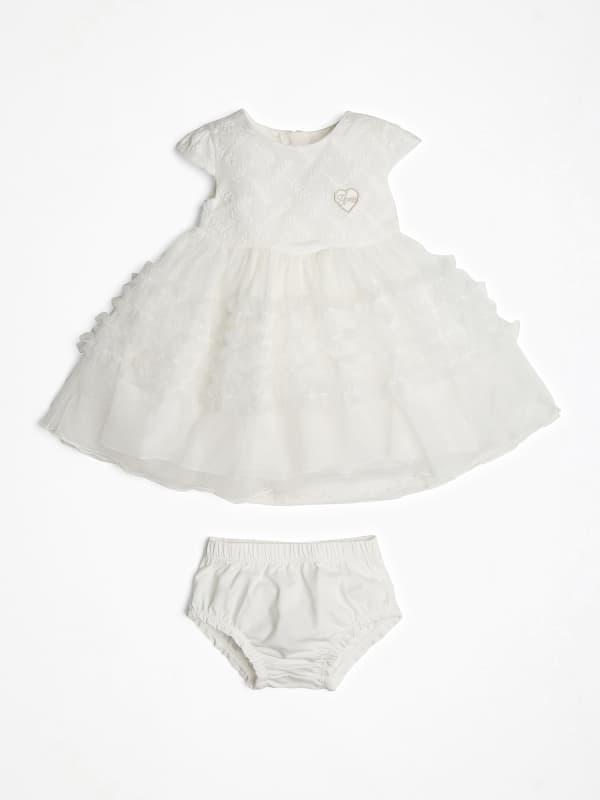 Kleid Mit Einsatz Aus Netzstoff   Bekleidung > Kleider   Guess