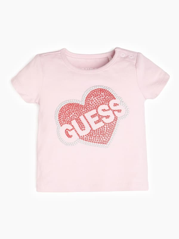 Image of T-Shirt Strass Con Logo