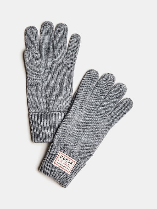 GUESS Handschuhe Aus Wolle Logo